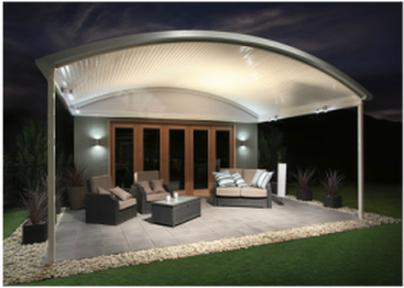 Curved patios Gold Coast