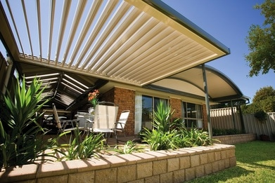 Sunroof opening roof patios Gold Coast